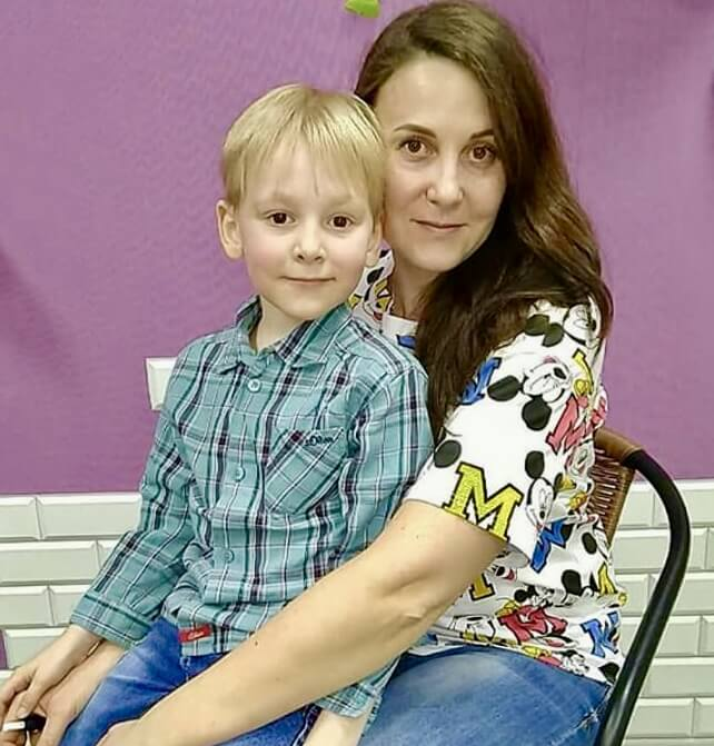 мама Токарева Екатерина, пациент Тубольцев Анатолий, 2013 г.р.</p> <p>